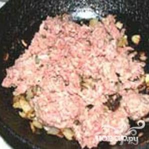 Запеканка из макарон c мясным фаршем и овощами - фото шаг 3
