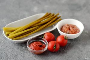 Черемша с томатной пастой