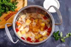 Фруктовый суп с рисом - фото шаг 4