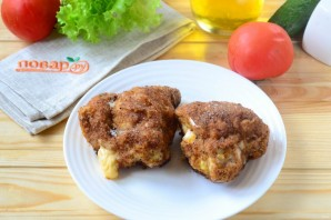 Кармашки из куриного филе с сыром - фото шаг 7