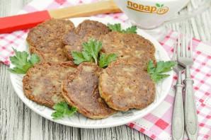 Котлеты из печени с картошкой - фото шаг 10