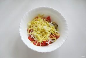 Салат с помидорами и баклажанами - фото шаг 7