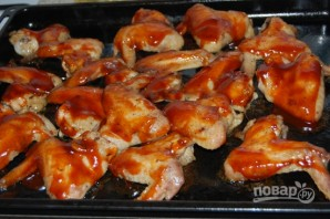 Куриные крылья барбекю - фото шаг 10