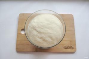 Дрожжевой пирог с малиной - фото шаг 8