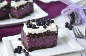 Черничный торт - фото шаг 8