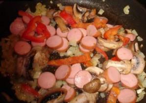 Паэлья с грибами - фото шаг 2