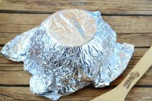 Съедобная корзинка для пасхальных яиц - фото шаг 2