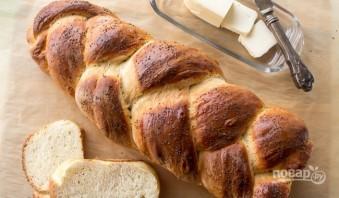Хлебная косичка с маком - фото шаг 9