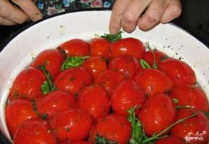 Малосольные помидоры - фото шаг 5