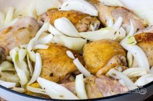 Запеченная курица с апельсинами и фенхелем - фото шаг 2