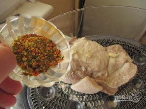 Мясо в пароварке - фото шаг 4