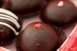 Шоколадное печенье к Дню влюбленных - фото шаг 11
