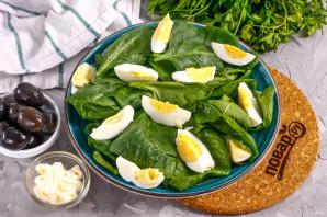 Салат с тунцом и маслинами - фото шаг 3