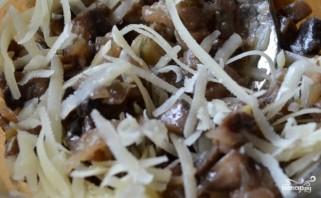 Начинка для тарталеток с грибами - фото шаг 3
