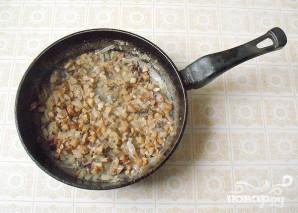 Макароны с грибами - фото шаг 3