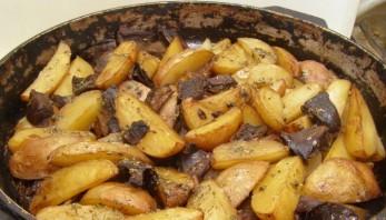 Подосиновики с картошкой - фото шаг 6