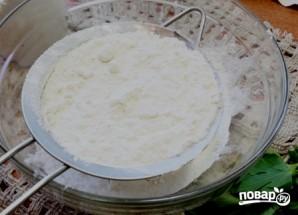 Пирог с сыром и зеленью - фото шаг 3