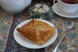 Слоеное бездрожжевое тесто с творогом - фото шаг 6
