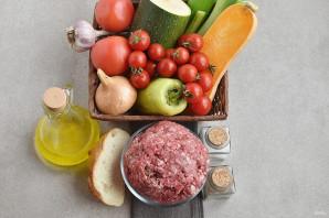 Тефтели с овощами в мультиварке - фото шаг 1