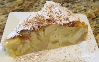 """Тесто на """"Шарлотку"""" с яблоками - фото шаг 6"""