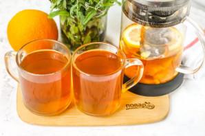 Апельсиновый чай с имбирем - фото шаг 6