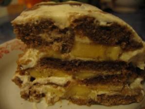 Пряничный торт (рецепт без выпечки) - фото шаг 6