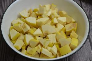 Варенье из айвы с яблоками - фото шаг 3