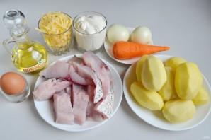 Рыба с картошкой в духовке - фото шаг 1