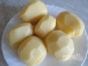 Картофель жареный с луком и зеленью - фото шаг 1
