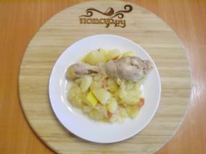 Курица с картошкой и овощами в мультиварке - фото шаг 7
