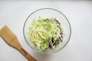 "Салат ""Три капусты"" - фото шаг 4"
