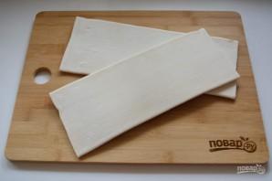 Витой пирог с творожно-сырной начинкой - фото шаг 1