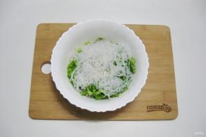 Постный салат с кальмарами - фото шаг 9