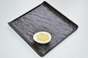 Яйца фаршированные тунцом - фото шаг 7