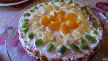 Бисквитно-кремовый торт - фото шаг 7