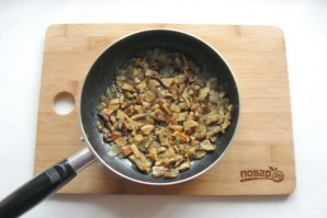 Мясной хлеб с грибами - фото шаг 2
