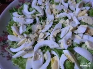 Салат с копченой курицей и сыром - фото шаг 2