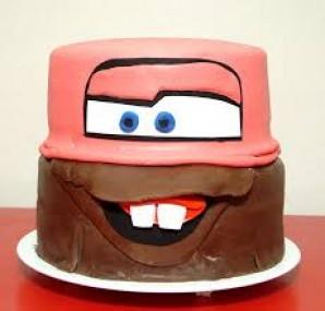 """Торт """"Робокар"""" - фото шаг 7"""