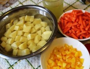 Жаркое из индейки с картофелем - фото шаг 3