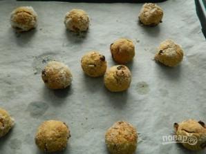 Морковное печенье с овсяными хлопьями - фото шаг 10