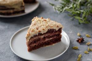 Шоколадный торт с кардамоном - фото шаг 14