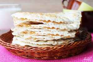 Пресный хлеб с Кавказа - фото шаг 3
