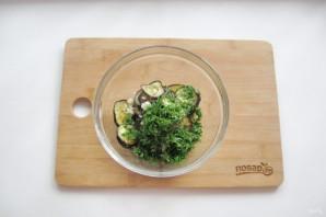 Закуска с баклажанами и чесноком - фото шаг 10