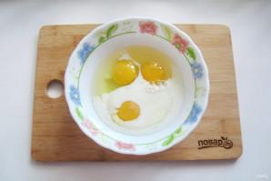 Омлет с сыром и кабачком - фото шаг 5