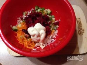 Салат из капусты с вишней - фото шаг 6