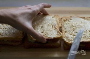 Сэндвичи дома - фото шаг 3