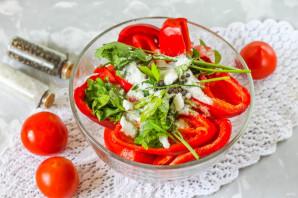 Соленые помидоры с перцем - фото шаг 5