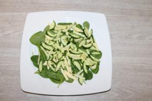 Диетический зелёный салат - фото шаг 5