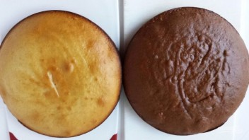 """Бисквитный торт """"Графские развалины"""" - фото шаг 9"""