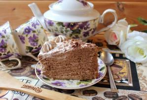 """Торт """"Шоколадная девочка"""" - фото шаг 15"""